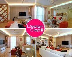 modern living hall interior designing
