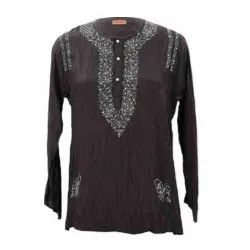 Embroidery Services On Kurti