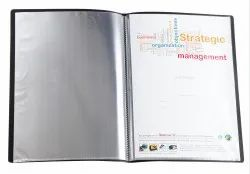 Clear Book 10 Pockets F/C Size