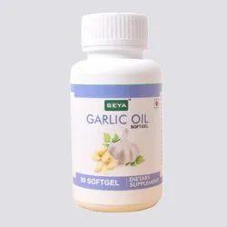 Garlic Oil Softgel Capsule