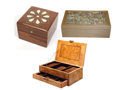 Square Polished Wooden Box, For Multi use, Size: 12x12x5