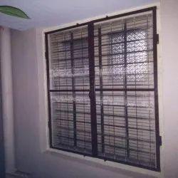 Modern Color Coated Rectangular Aluminium Mesh Window