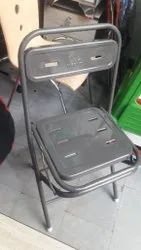 Foldable Black Folding Chair, For Home