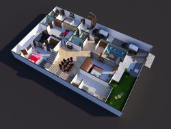 3D Floor Plan Service