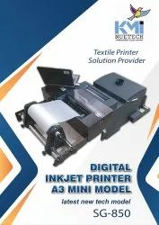 T-Shirt New Textile Printer /Direct To Fabric  / Any Fabric Printing First In India DTF