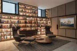 20 Days Library Interior Designing