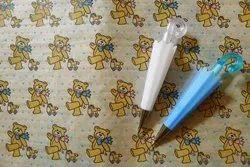 蓝色塑料伞形铅笔,包装类型:箱子