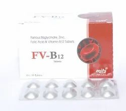 Ferrous Bis Glycinate Zinc Bis Glycinate Folic Acid Vitamin B12
