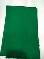 Green Plain Pure Silk Fabric