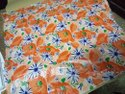 5 Color Flower Design Raw Material 100 GSM /Film