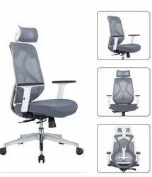 Executive High Back Chair - Ergon Cush White