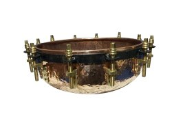 Copper Tasha Musical Instrument