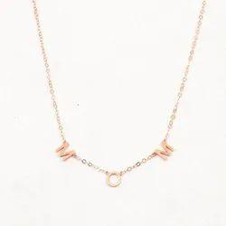 Designer Ladies Name Necklace