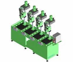QMGP12 Pneumatic Quill Type Gang Drilling Machine