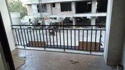 6.5mm Mild Steel Fancy Balcony Railing