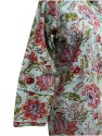 Sceen Print Cotton Floral Night Suit