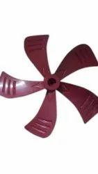 Plastic 16 Inch Red Cooler Fan Blade