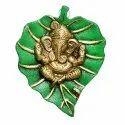 Patta Ganesh Statue Green