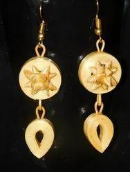 Ladies Bamboo Earrings