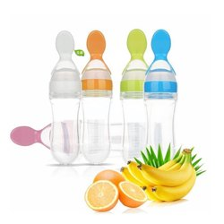 Plastic Baby Feeding Bottle, Age Group: 1-2 Years, Capacity: 200 Ml