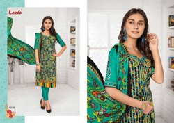 Laado Vol-55 Cotton Printed Dresses