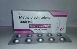 Methylprednisolone Tablets Ip 4 Mg