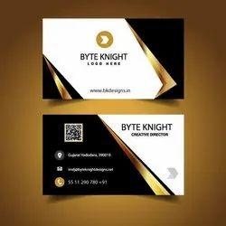 Cardboard Digital Visiting Card Printing Service, in Pan India, Size: 90x55 Mm