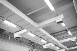 Rectangular Ceiling Mounted Air Duct