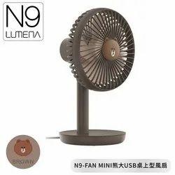 Multicolor Mini Fan Size: Small