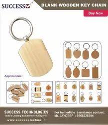 Blank Wooden Keychains