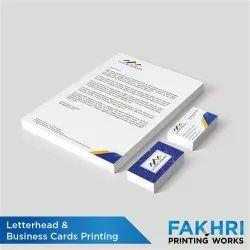 Letterhead Printing Service, in Local