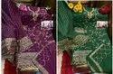 India Attires Georgette And Cotton Pakistani Salwar Kameez, Machine Wash