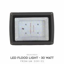 30W LED Floodlight Backchoke