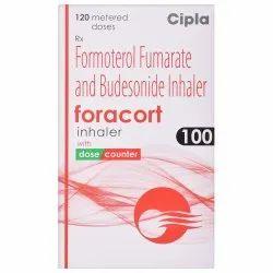 Foracort Inhaler (Formoterol + Budesonide)