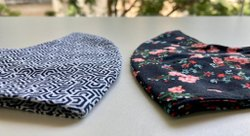 Reusable Adjustable Toggle Fabric Face Mask