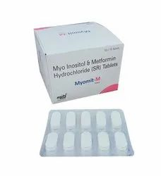 Myo-Inositol and Mtformin Hydrocloride Tablets