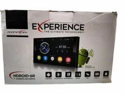 Nippon 6R Experience Android Multimedia Stereo, Screen Size: 7'