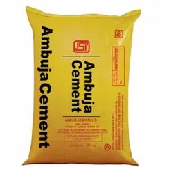 Gray Ambuja Ordinary Portland Cement, Packaging Size: 50 Kg