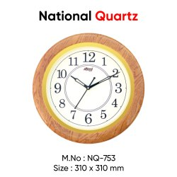 Multicolor Multi Analog Wall Clock