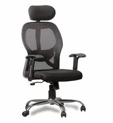 Mesh 1 Second Hand Office Ergonomic Chair, Black
