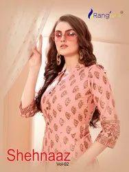 Rayon Formal Wear Rangjyot Sehnaaz Vol - 2, Wash Care: Dry Clean