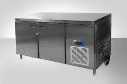 Hariom Silver Undercounter Refrigerator, Double Door, Capacity: 450 Ltr