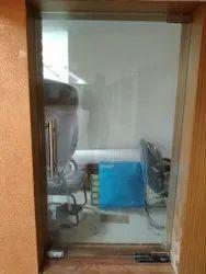 Patch Fitting Glass Door Work