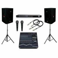 Sound Systems Rental Service