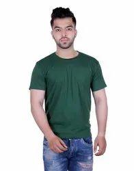 Plain Regular Fit Round Neck T-Shirt