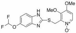 5-Diflouro Methoxy 3 4-Dimethoxy-2-Pyridinyl Methyl Thio 1h-Bezimidazole(Pantoprazole Sulphide)
