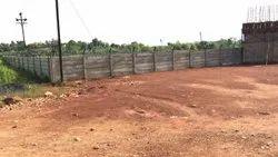 Industrial RCC Precast Boundary Wall