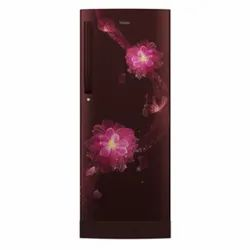 Red Blossom Direct Cool 4 Star Haier Refrigerator, Model Name/Number: HRD-1954PRB-E, Capacity: 195L