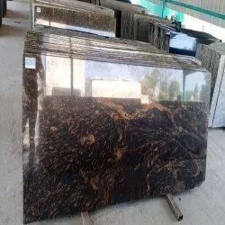 Polished Paradiso Brown Granite Slab, Thickness: 10 mm
