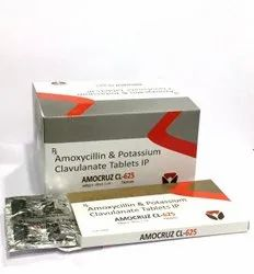 Amoxicillin & Potassium Clavulanate Tablet IP